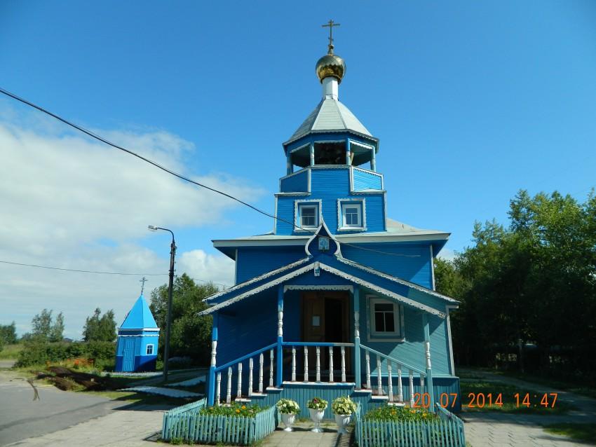 Церковь Воскресения Христова на Яграх (из села Солзы), Северодвинск