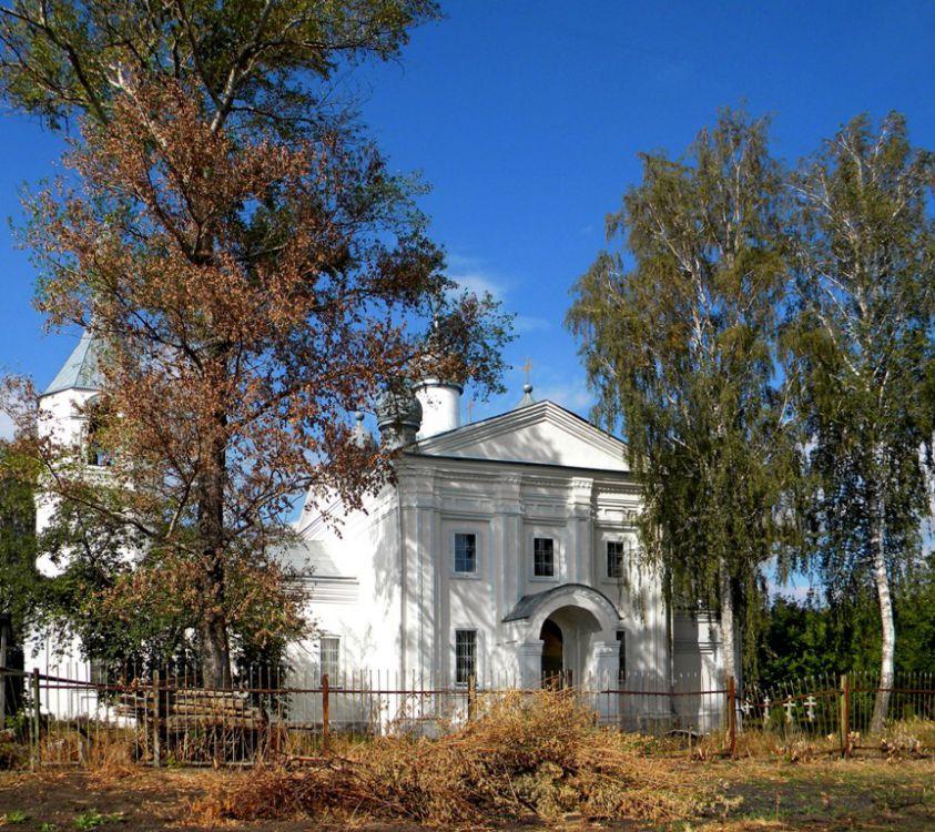 Церковь Введения во храм Пресвятой Богородицы, Верхнесмородино