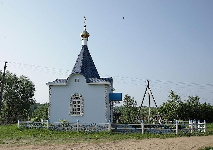 Часовня Анны Праведной-Доброе-Угранский район-Смоленская область