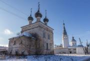 Писцово. Храмовый комплекс. Церкви Рождества Пресвятой Богородицы и Троицы Живоначальной