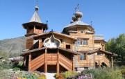Церковь Покрова Пресвятой Богородицы - Усть-Кокса - Усть-Коксинский район - Республика Алтай