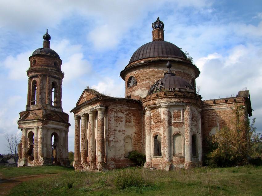 Церковь Тихвинской иконы Божией Матери, Вороновка