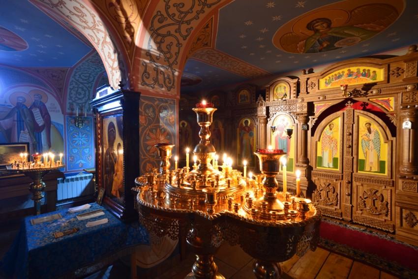 Знаменский скит. Церковь иконы Божией Матери