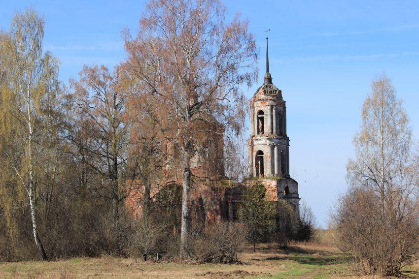 Церковь Воскресения Словущего, Коршево (Малое Новоселье, Бакланово)