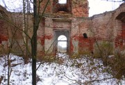 Коршево (Малое Новоселье, Бакланово). Воскресения Словущего, церковь
