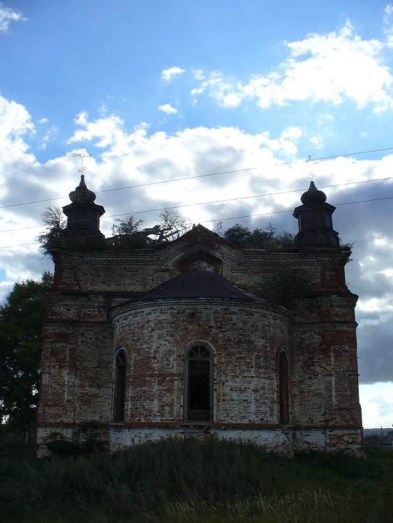 Церковь Илии Пророка, Гари