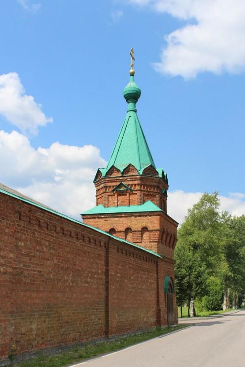 Никольский мужской монастырь. Часовня Спаса Нерукотворного Образа, Старая Ладога
