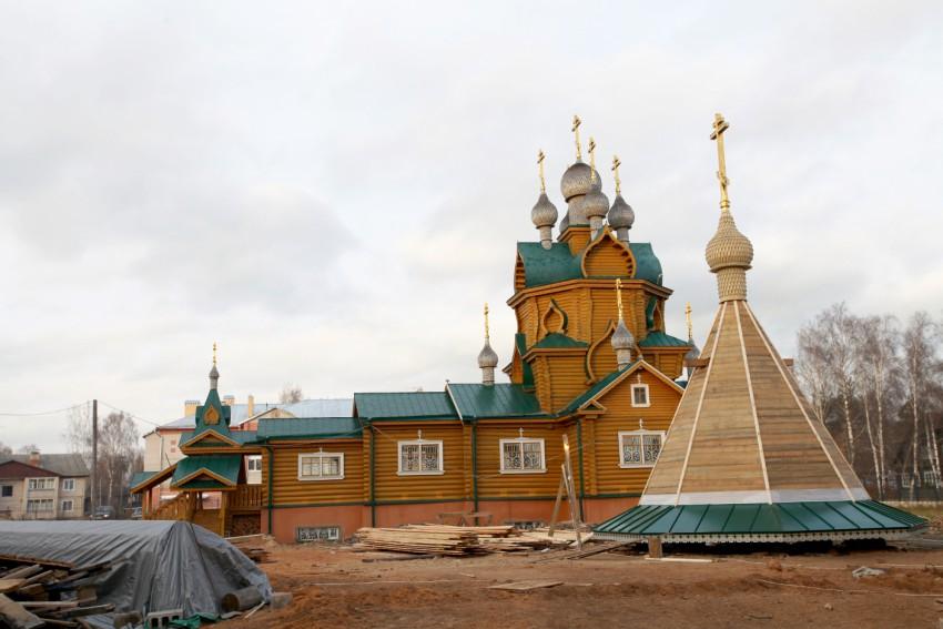 Церковь Евфросина Синозерского, Чагода
