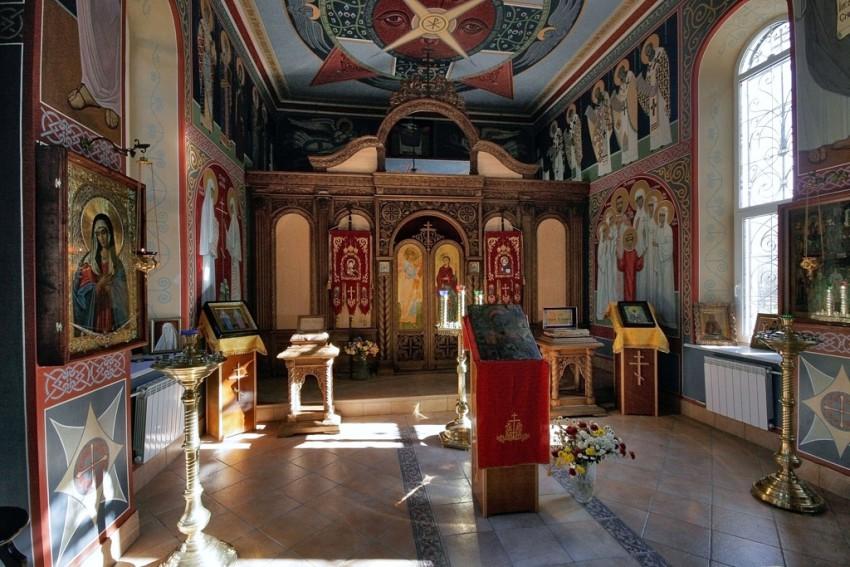 Богоявленский Аланский женский монастырь. Церковь Елисаветы Феодоровны и Варвары, Алагир