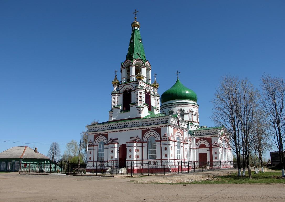 Церковь Рождества Иоанна Предтечи-Лум-Яранский район-Кировская область