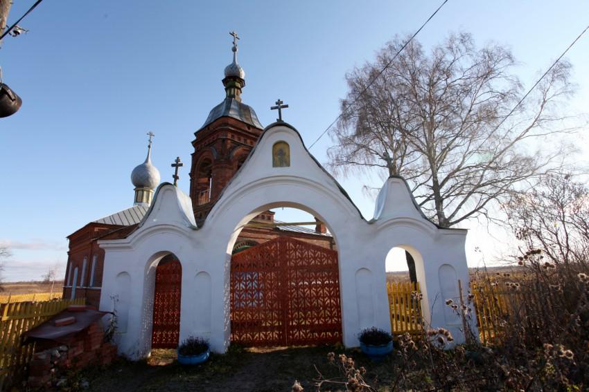 Церковь Успения Пресвятой Богородицы, Елохино