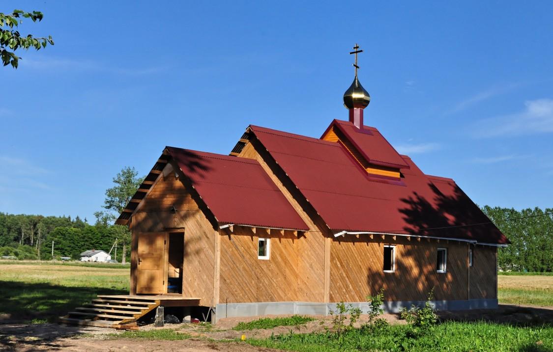 Церковь Смоленской иконы Божией Матери, Октябрьская