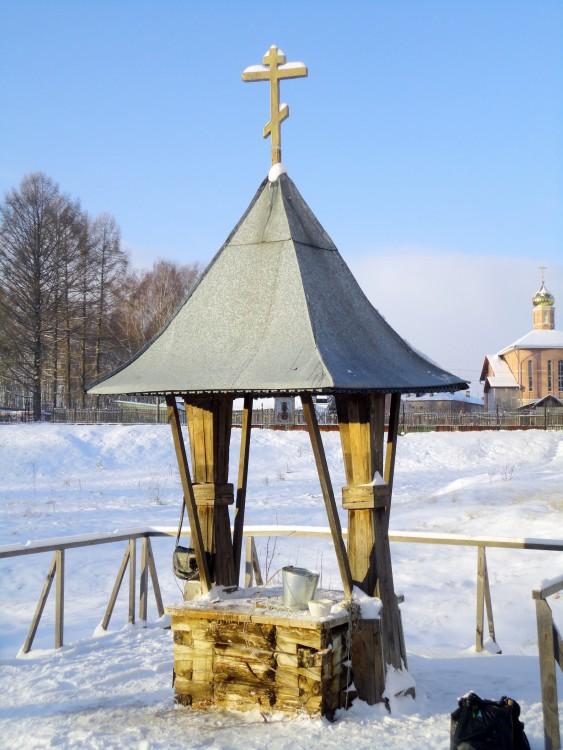 Троице-Сыпанов Пахомиево-Нерехтский монастырь. Надкладезная часовня Пахомия Нерехтского, Троица