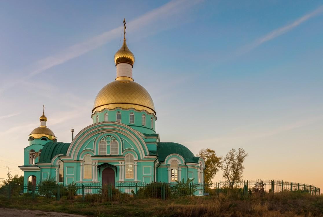 Церковь Сергия Радонежского, Соловцовка