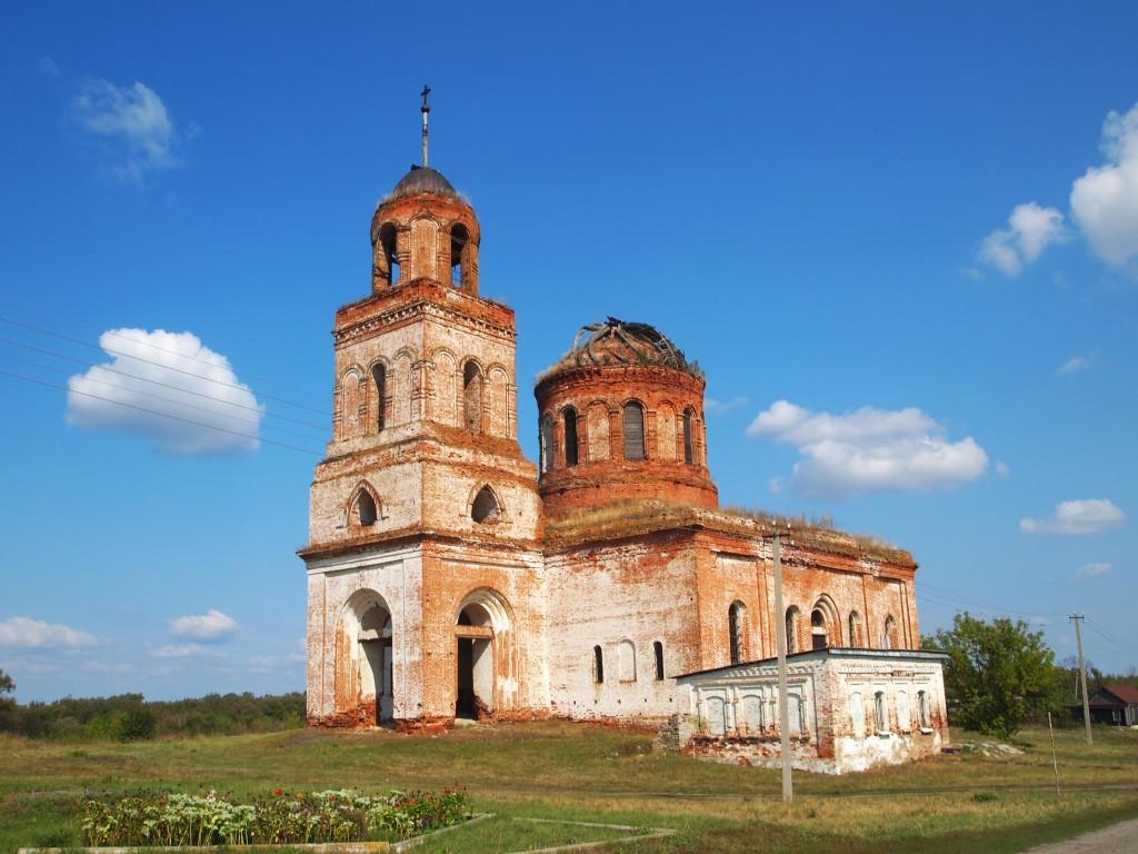 Церковь Казанской иконы Божией Матери, Урусово