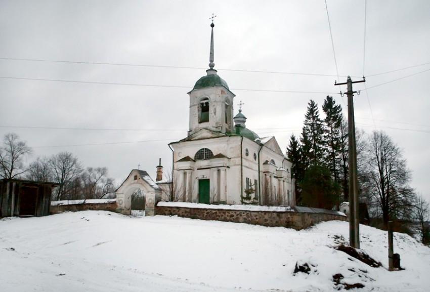 Церковь Спаса Преображения - Гористо - Дновский район - Псковская область.