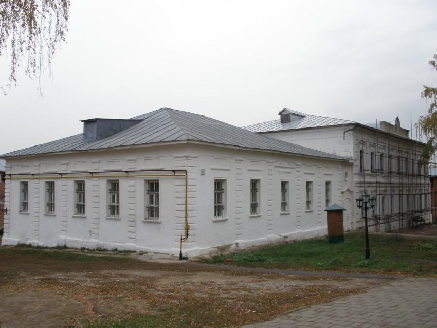 Кремль. Крестильный храм Серафима Саровского, Зарайск