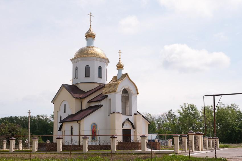 Церковь Николая Чудотворца, Вертуновка