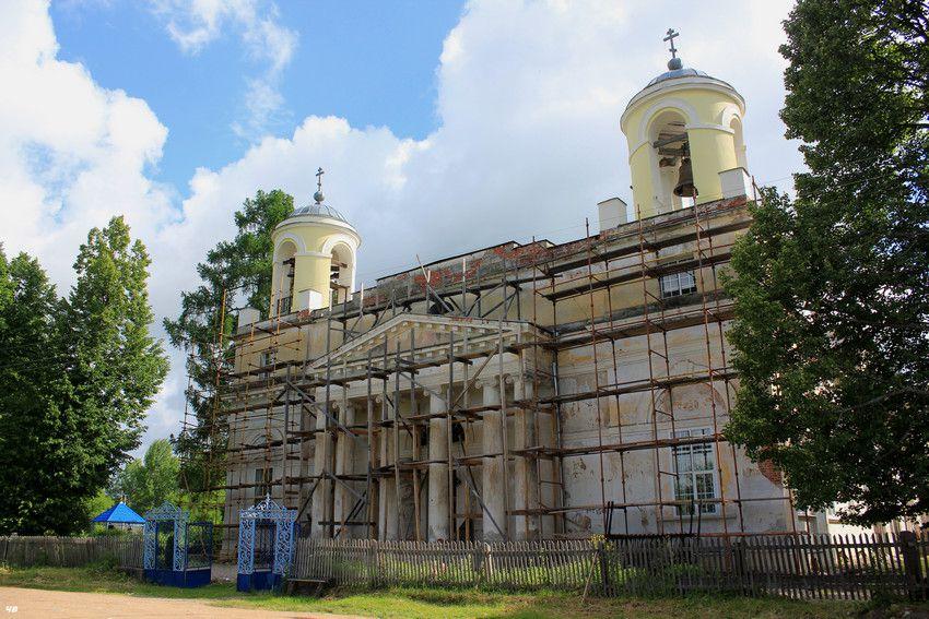 Церковь Спаса Нерукотворного Образа, Млево