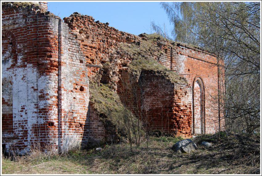 Церковь Николая Чудотворца, Ново-Архангел, урочище