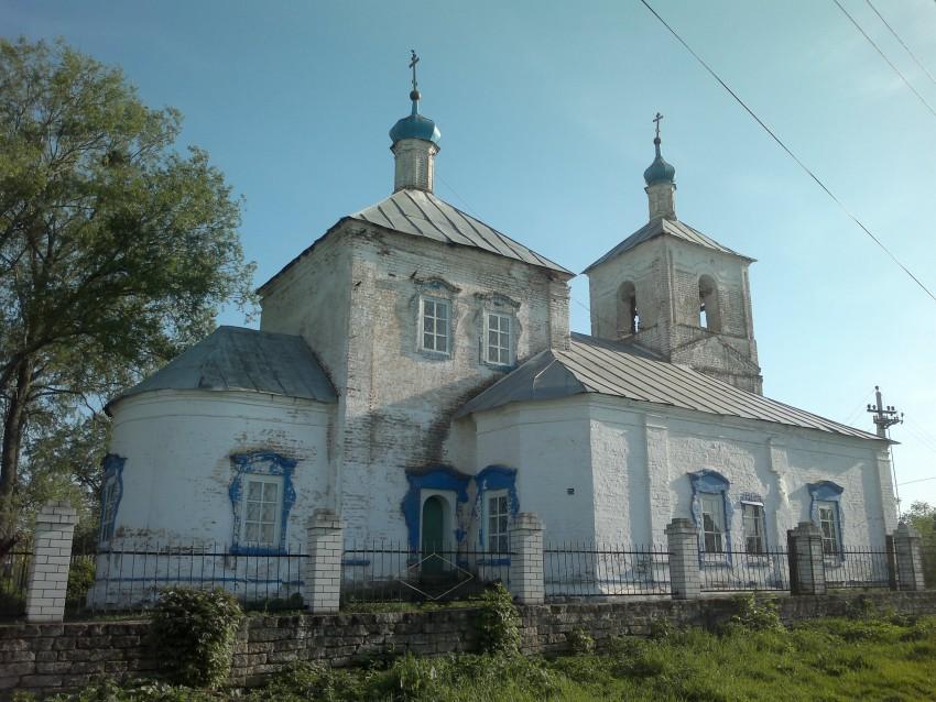 Церковь Вознесения Господня, Мамонино