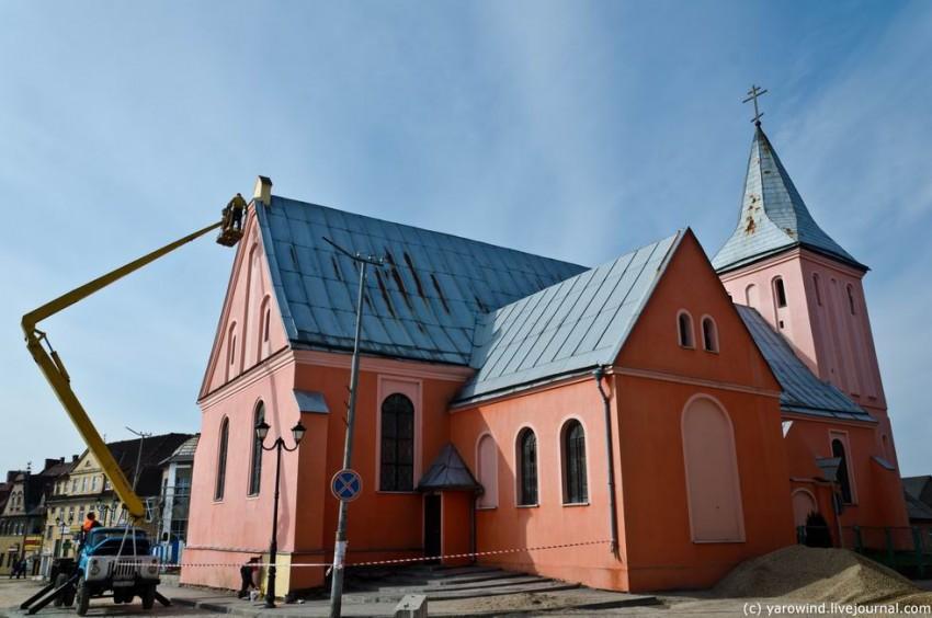 Церковь Иоанна Предтечи, Гвардейск (Тапиау)
