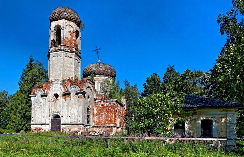 Церковь Троицы Живоначальной-Беляницы-Сонковский район-Тверская область