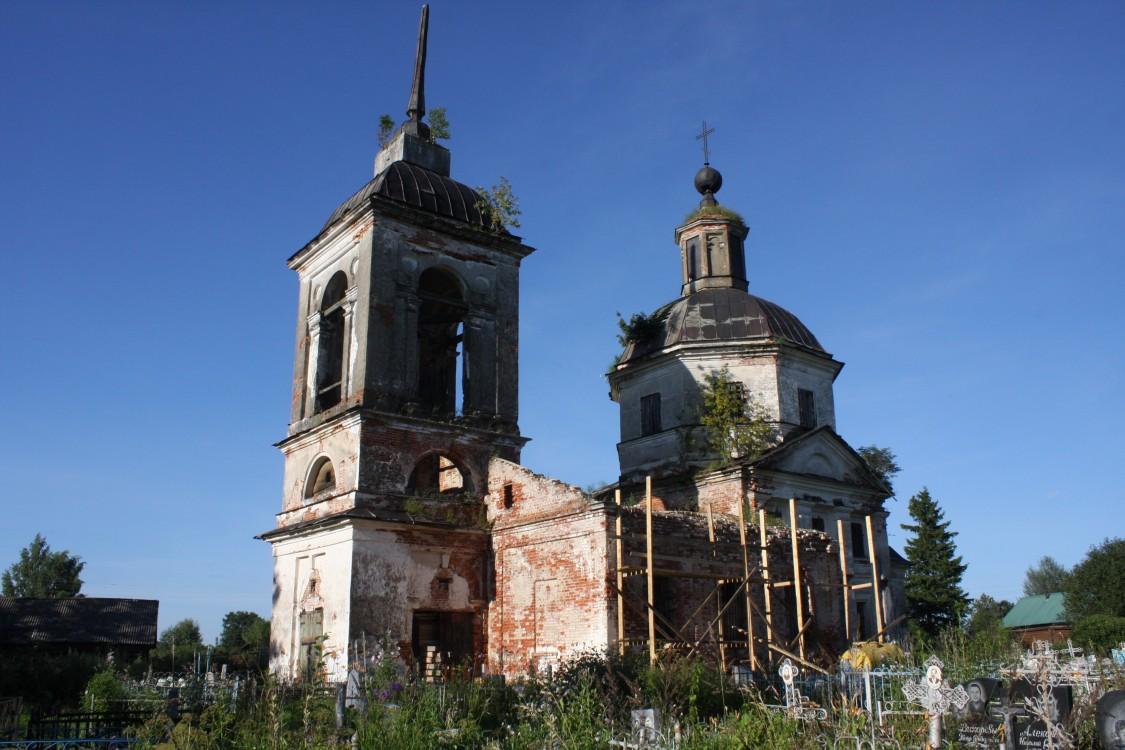 Церковь Спаса Нерукотворного Образа, Хонеево