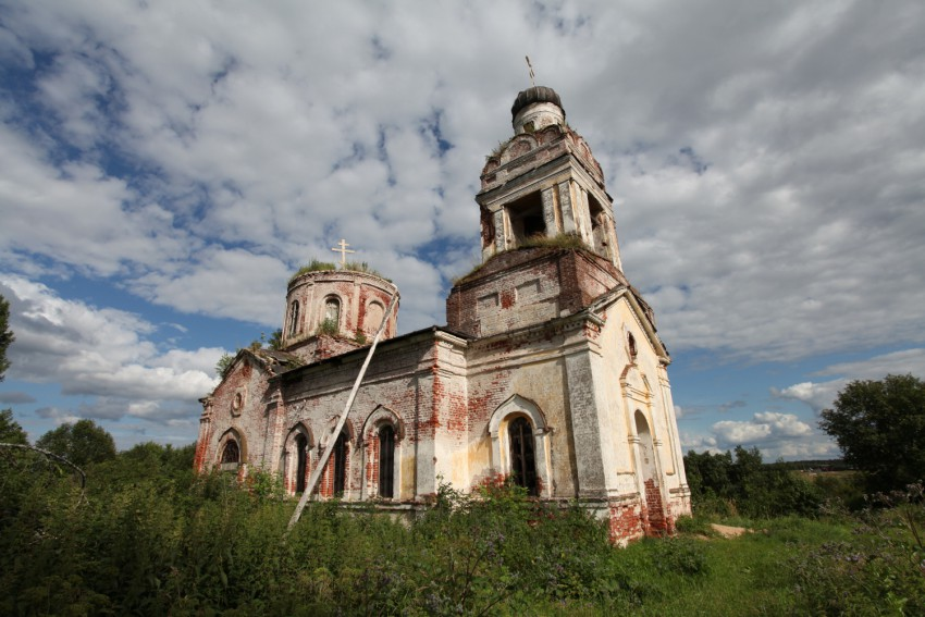 Церковь Усекновения главы Иоанна Предтечи, Ивановское