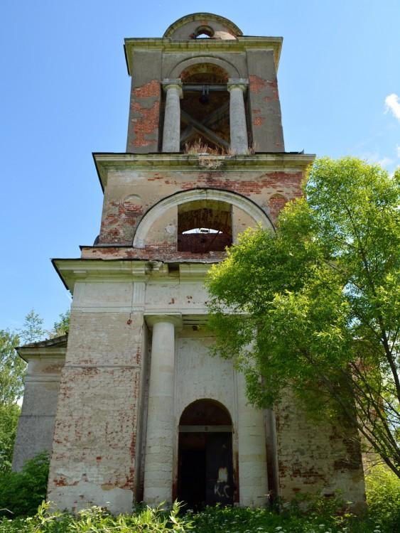 Церковь Воскресения Словущего, Благодатное