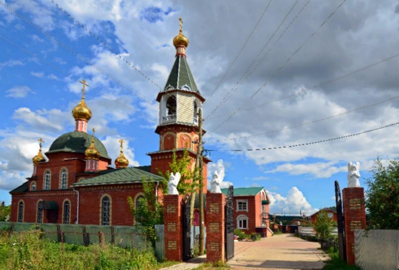 Христорождественский Иверский женский монастырь, Вятские Поляны
