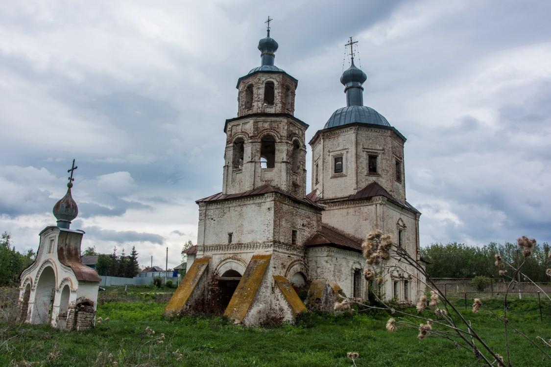 Церковь Смоленской иконы Божией матери, Соловцово