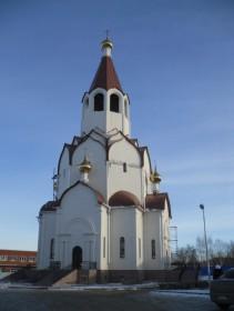 Картинки по запросу Храм во имя святого апостола Андрея Первозванного пермь