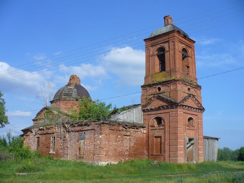 Церковь Троицы Живоначальной, Абди