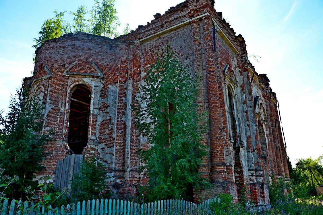 Троицкий Шенкурский женский монастырь. Собор Троицы Живоначальной, Шенкурск