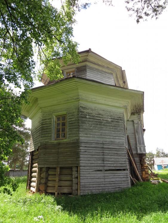 Церковь Введения во храм Пресвятой Богородицы, Ромашево (Ромашевский погост)