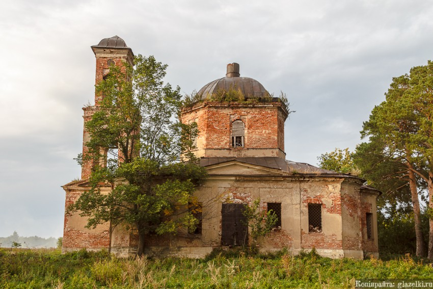 Церковь Спаса Нерукотворного Образа, Караваево