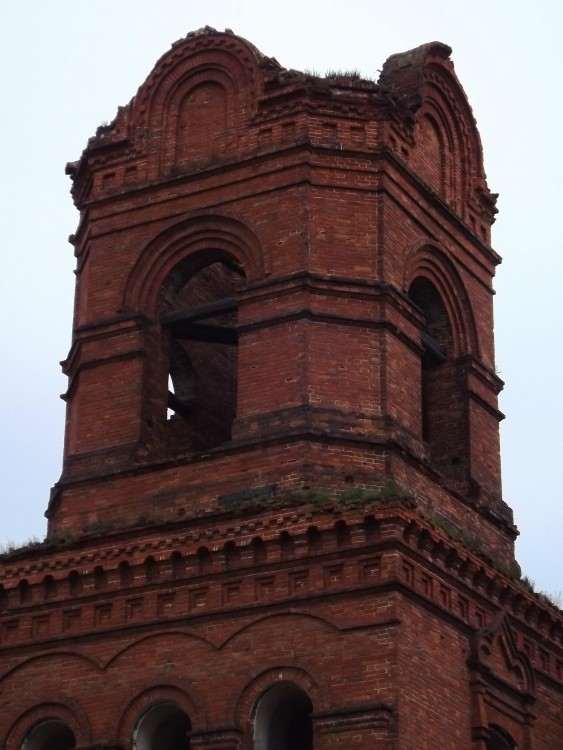 Церковь Казанской иконы Божией Матери, Мокрое