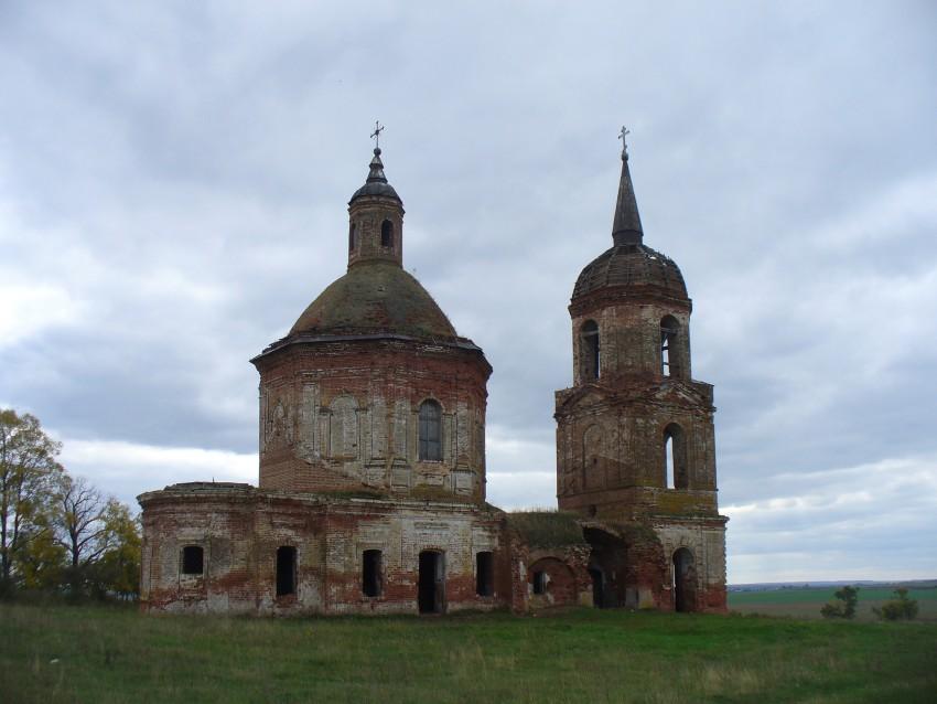 Церковь Казанской иконы Божией Матери, Большой Красный Яр