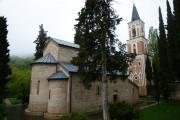 Бодбийский Нины равноапостольной монастырь. Собор Георгия Победоносца и Нины равноапостольной - Бодбе - Кахетия - Грузия