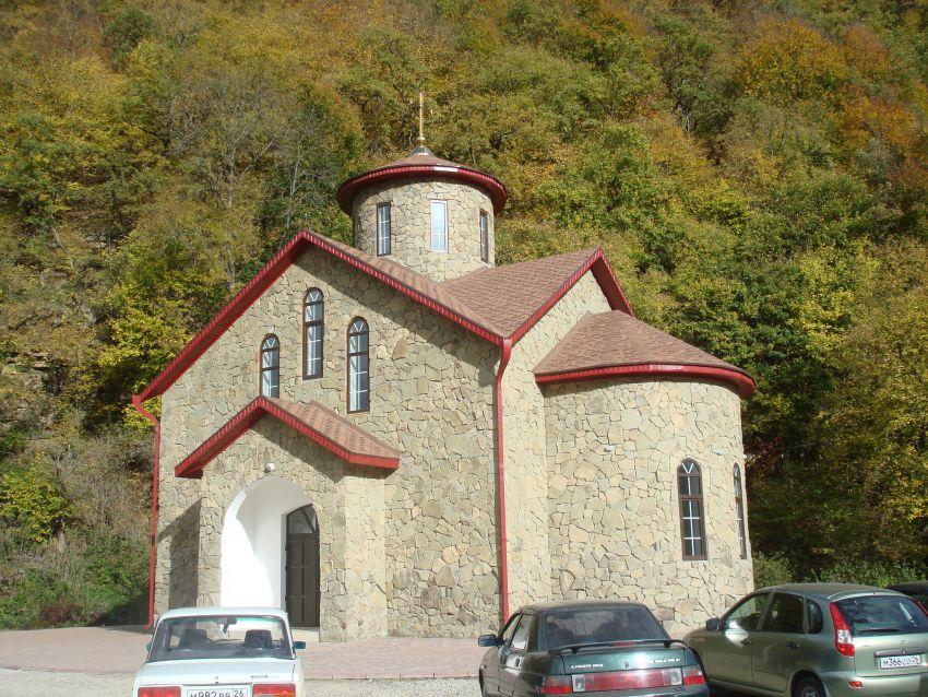 Церковь Спаса Нерукотворного Образа, Нижний Архыз