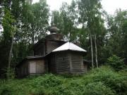 Церковь Троицы Живоначальной - Божье Дело, остров - Пеновский район - Тверская область