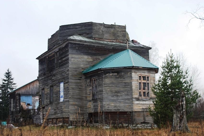 Церковь Николая Чудотворца, Змеёво