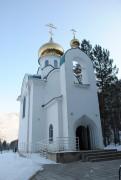 Церковь Семи отроков Эфесских на Уйском кладбище - Майна - г. Саяногорск - Республика Хакасия