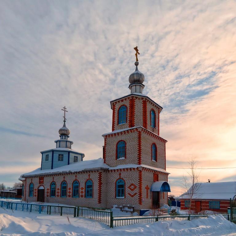 Церковь Василия Великого, Яншихово-Норваши