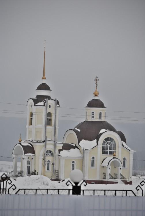 Церковь Вознесения Господня, Яуши