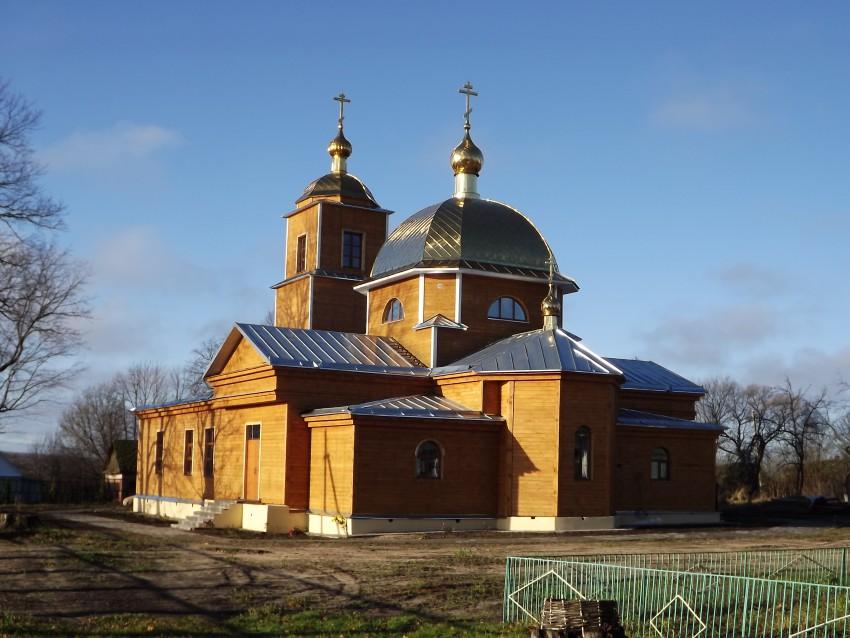 Церковь Василия Великого, Уношево