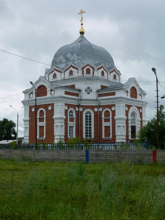 Покровский мужской монастырь. Церковь Покрова Пресвятой Богородицы, Факел Революции