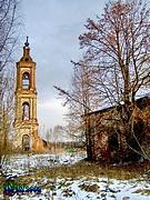 Колокольня церкви Воскресения Христова - Листьё - Пучежский район - Ивановская область