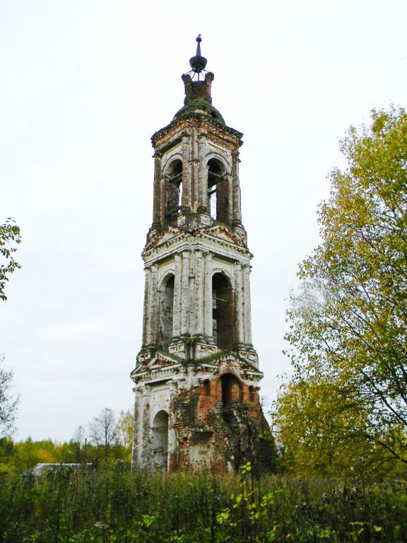 Колокольня церкви Воскресения Христова, Листьё